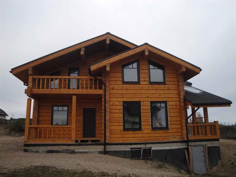 Производим и проектируем бревенчатые дома ручной рубки Минск - изображение 3.